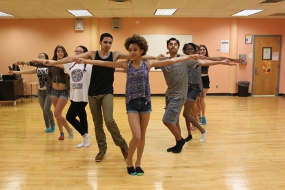 WE Musical Theatre Dance Class