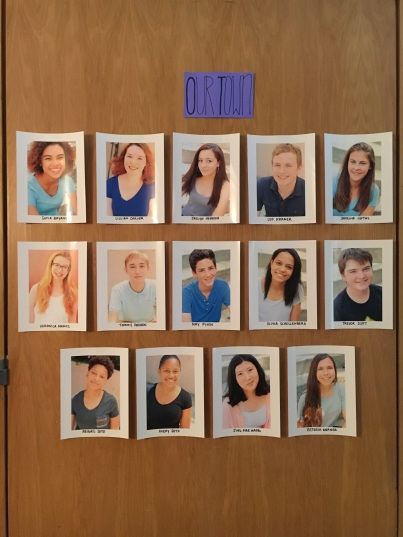 Headshot wall Summer 2016